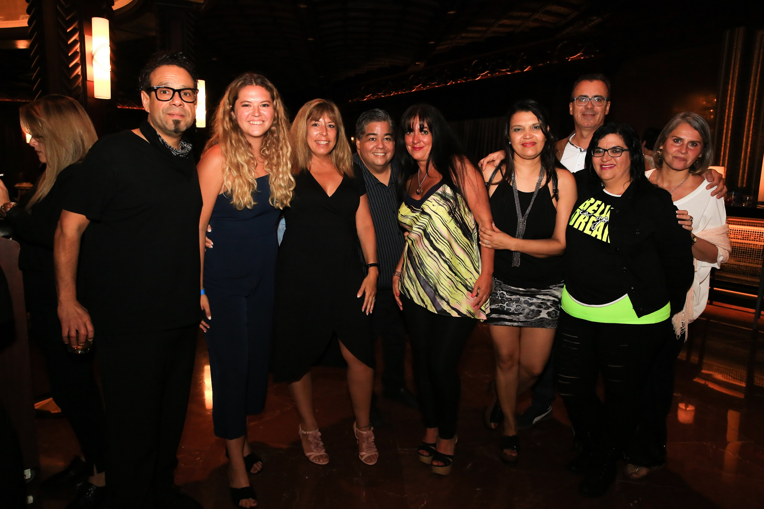 1 Menudo - Rai Torres, Tatiana Hains, Graciela Velazco, William Marrero, Fernanda Sponelli, Sandra Custiriano,Tommy Rivera, Carmen Torres y Sonia Muñoz.jpg