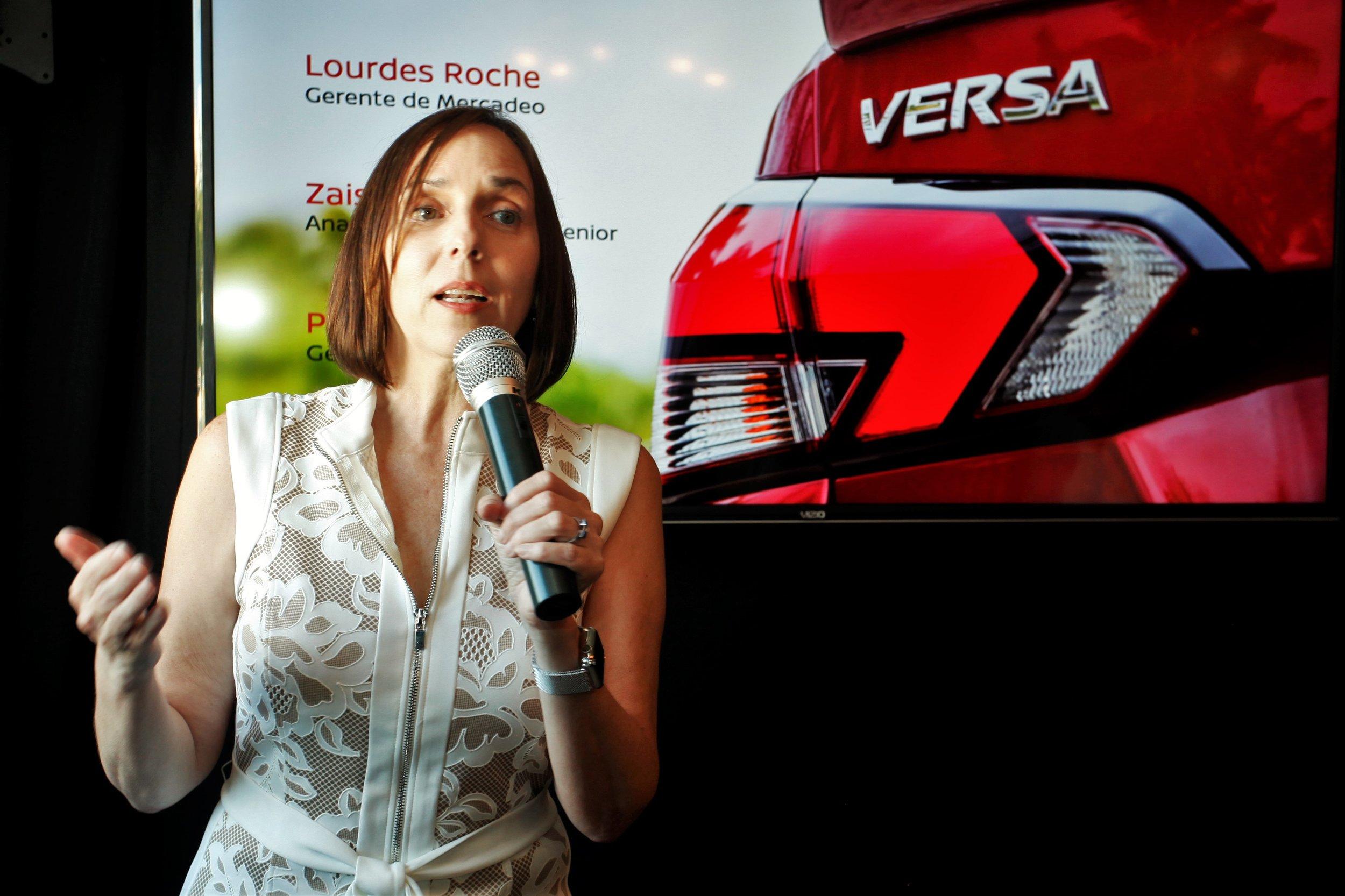 _MG_4105 Lourdes Roche gerente de Mercadeo Nissan PR.JPG