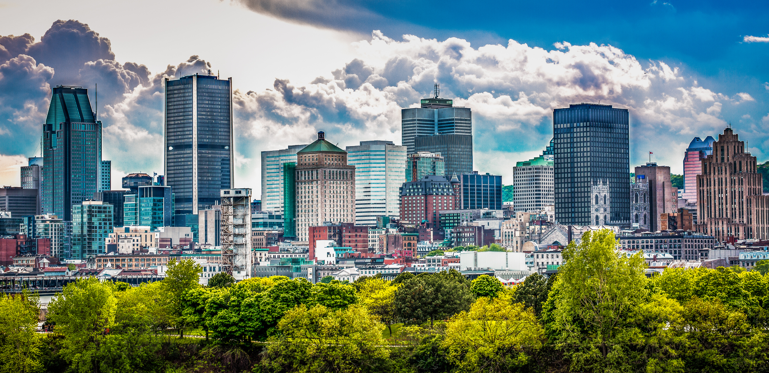 Greater Montreal Area locations -