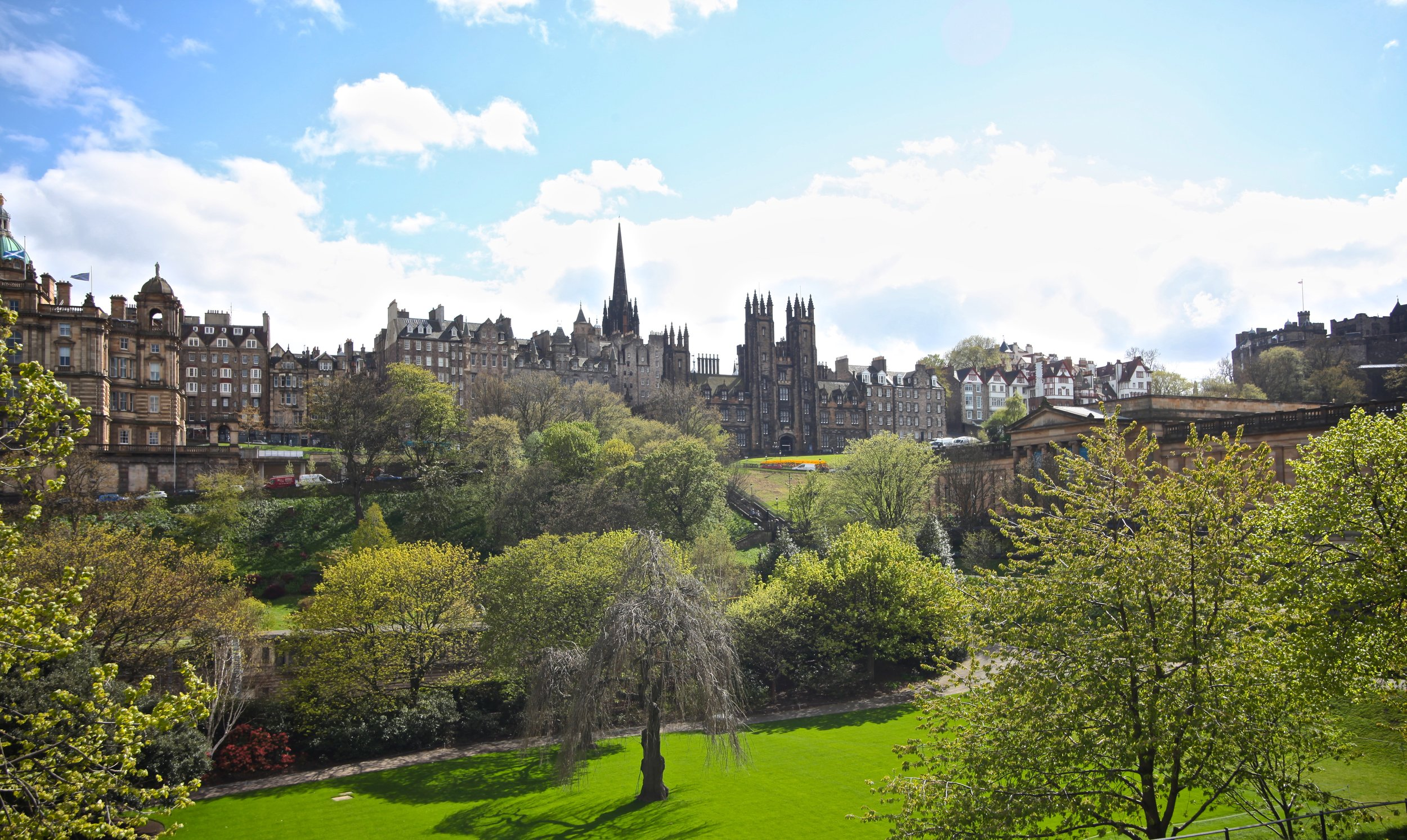 Princess St. Gardens   Edinburgh, Scotland