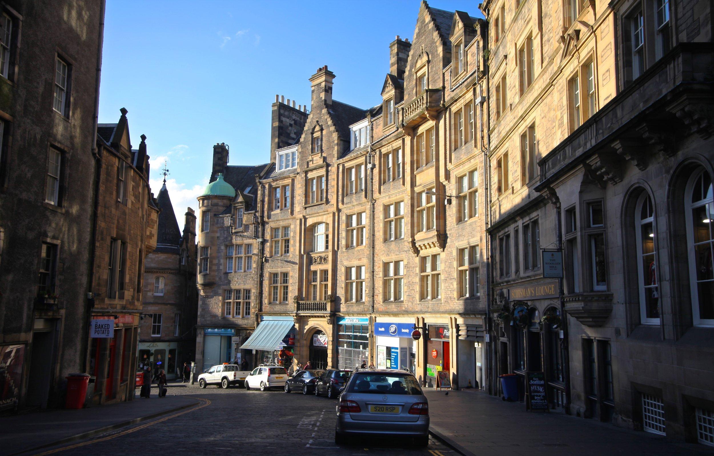 Victoria Street   Edinburgh, Scotland