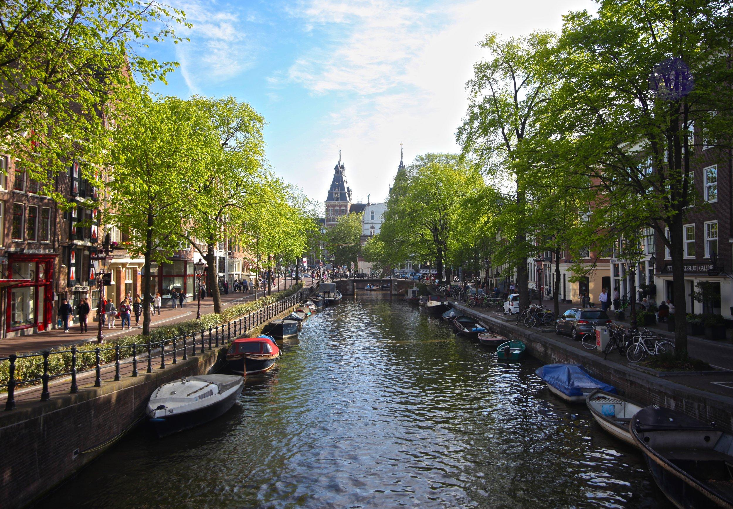 Amsterdam Canals,   Amsterdam, Netherlands