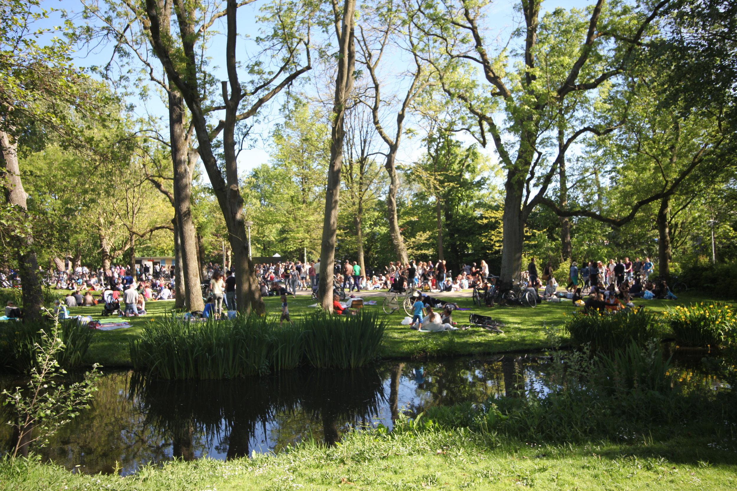 Vondelpark ,  Amsterdam