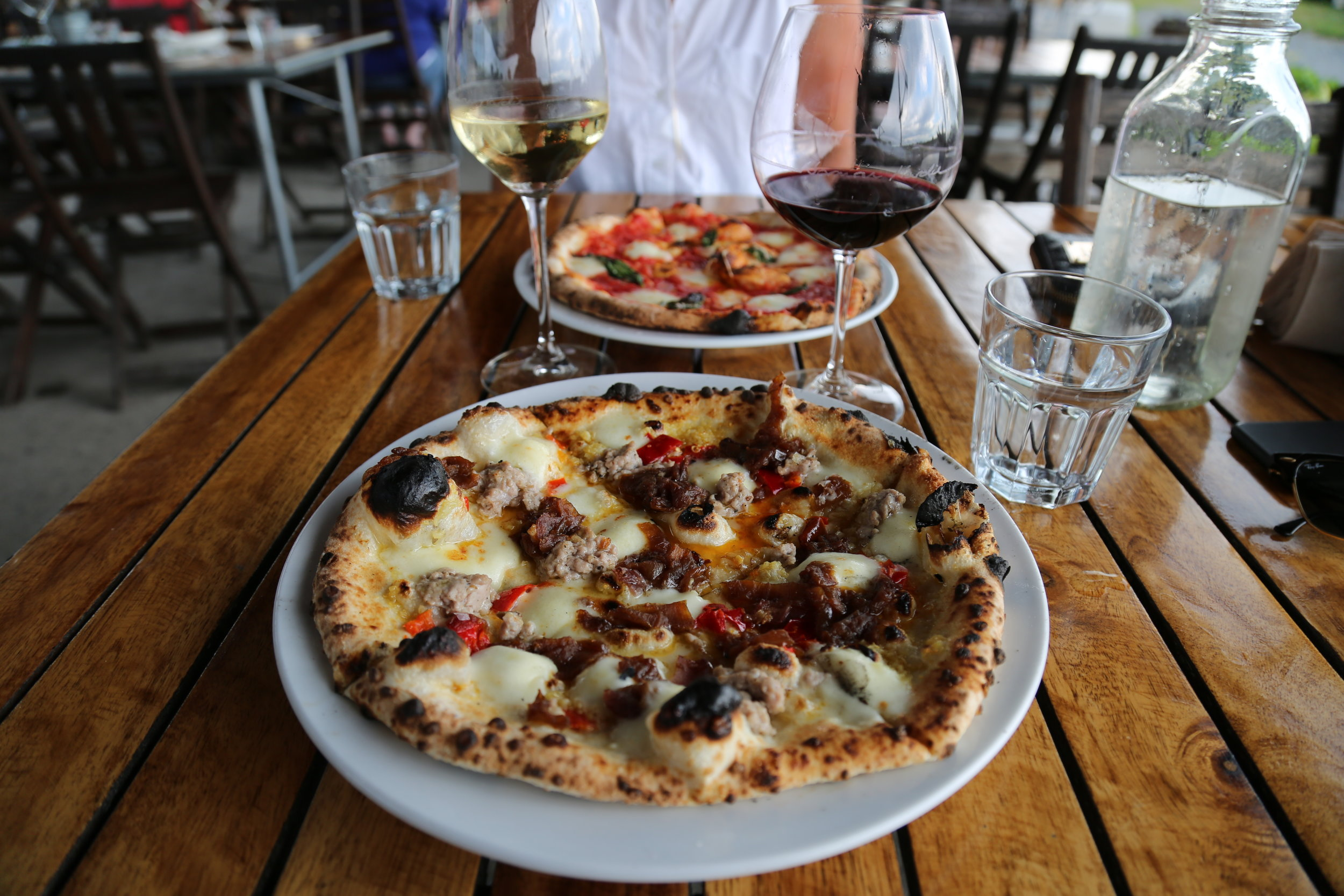 ~Wine Tasting and Pizza in Prince Edward County at Norman Hardie Vineyards~