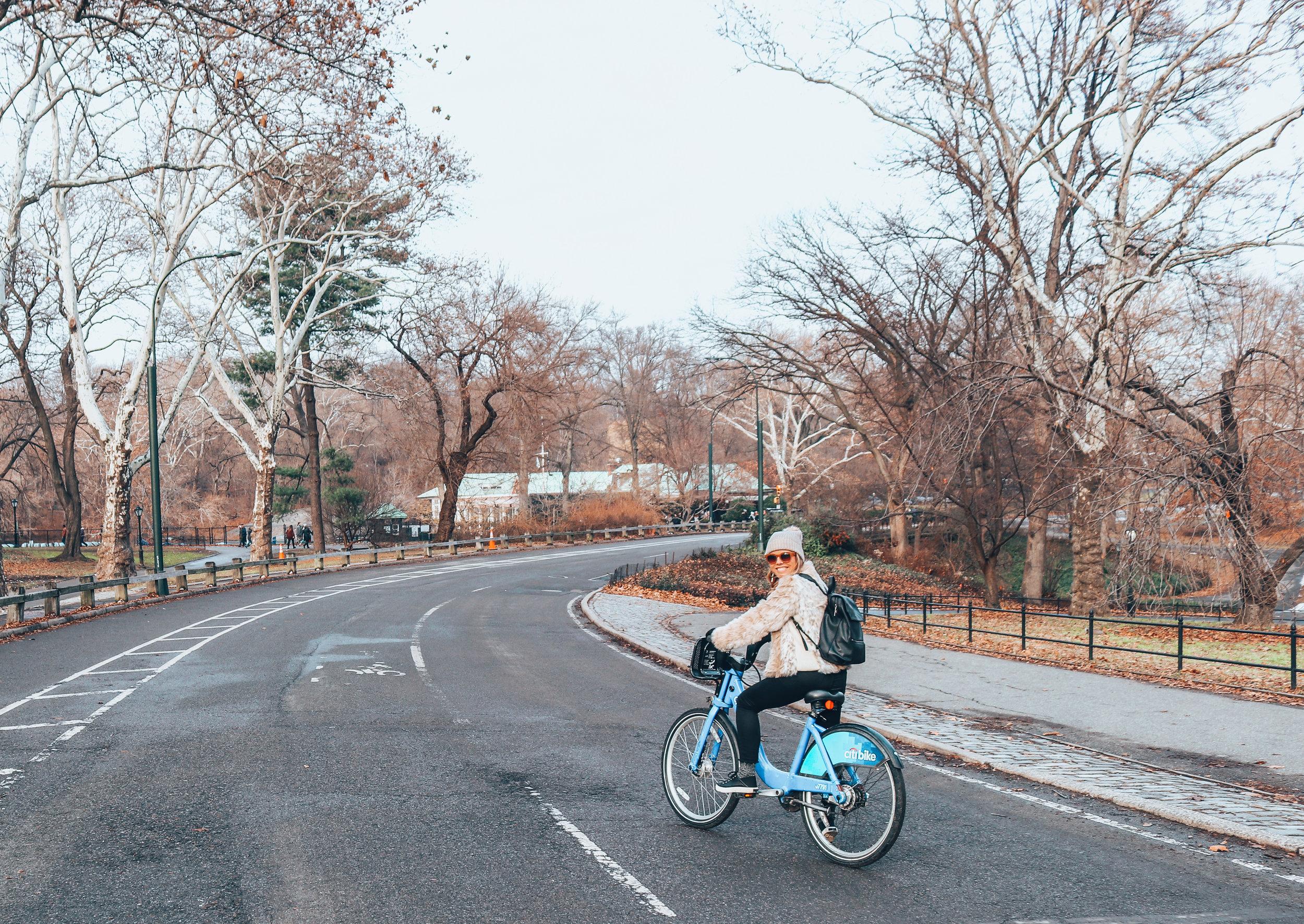 NYC Biking