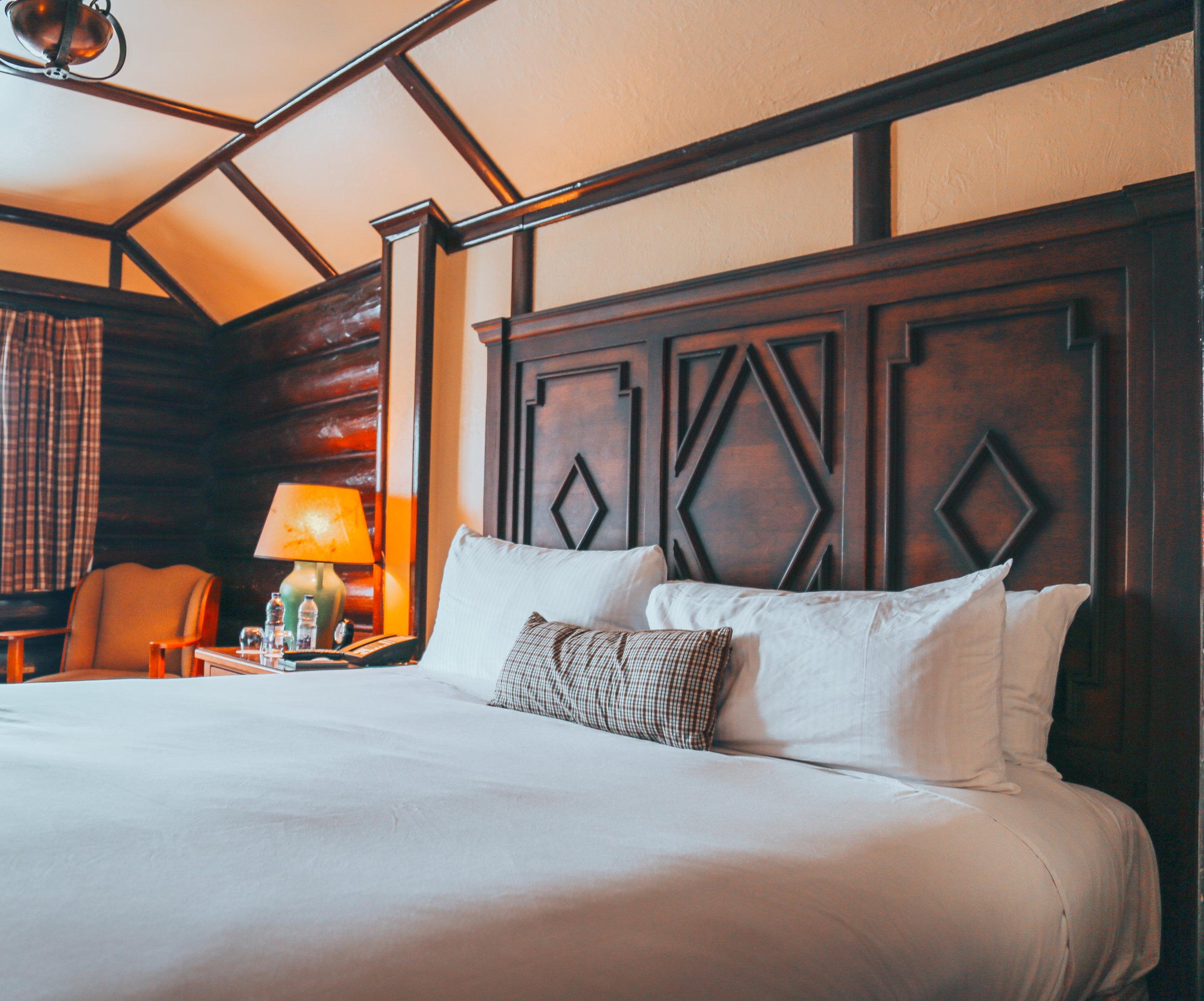 Fairmont Hotel Room