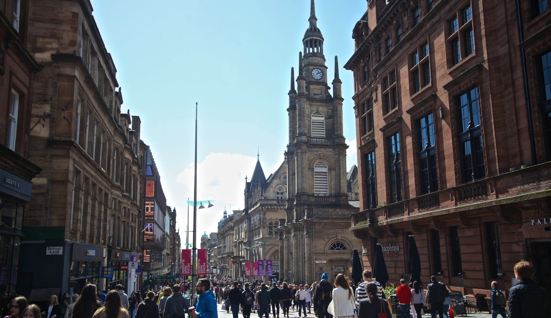 Buchanan Street  Glasgow, Scotland