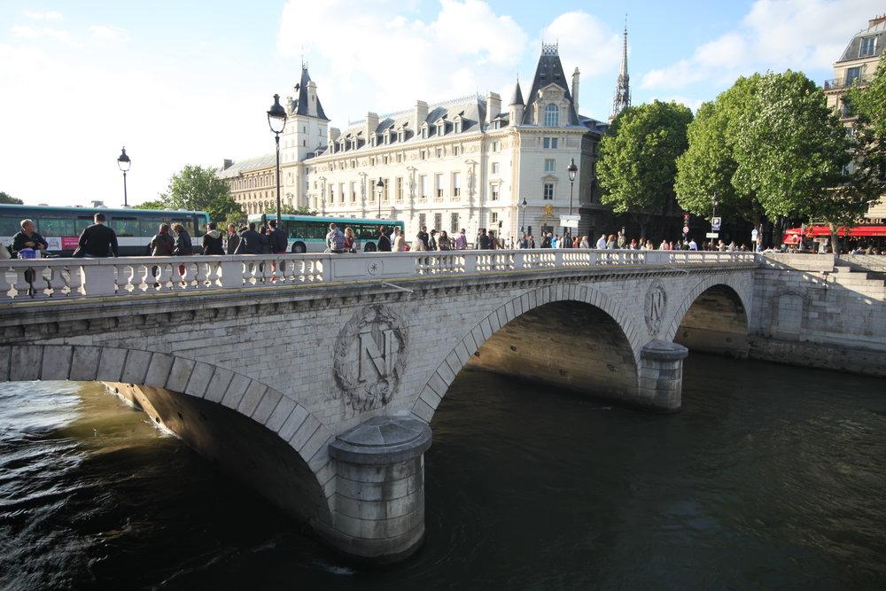 La Siene   Paris, France