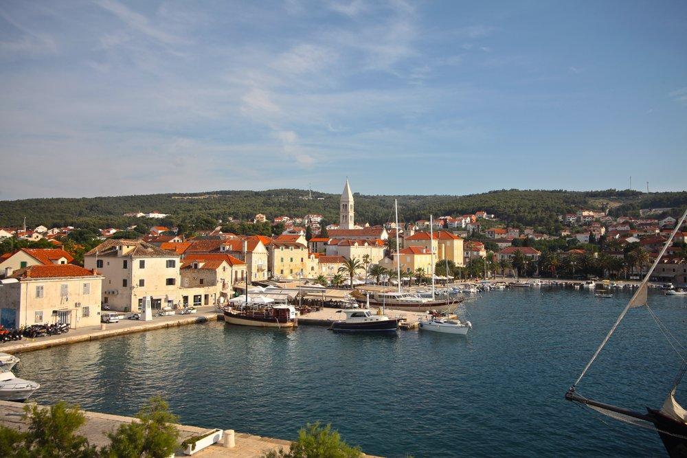 Island of Brac , Croatia