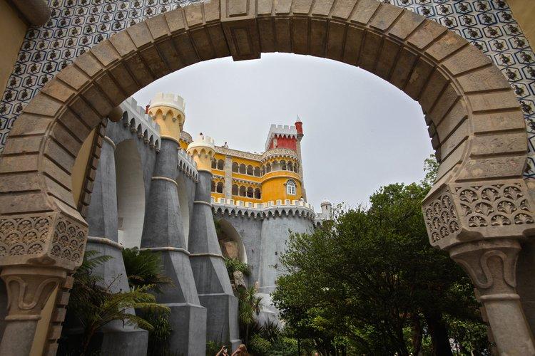 Sintra Castle , Lisbon