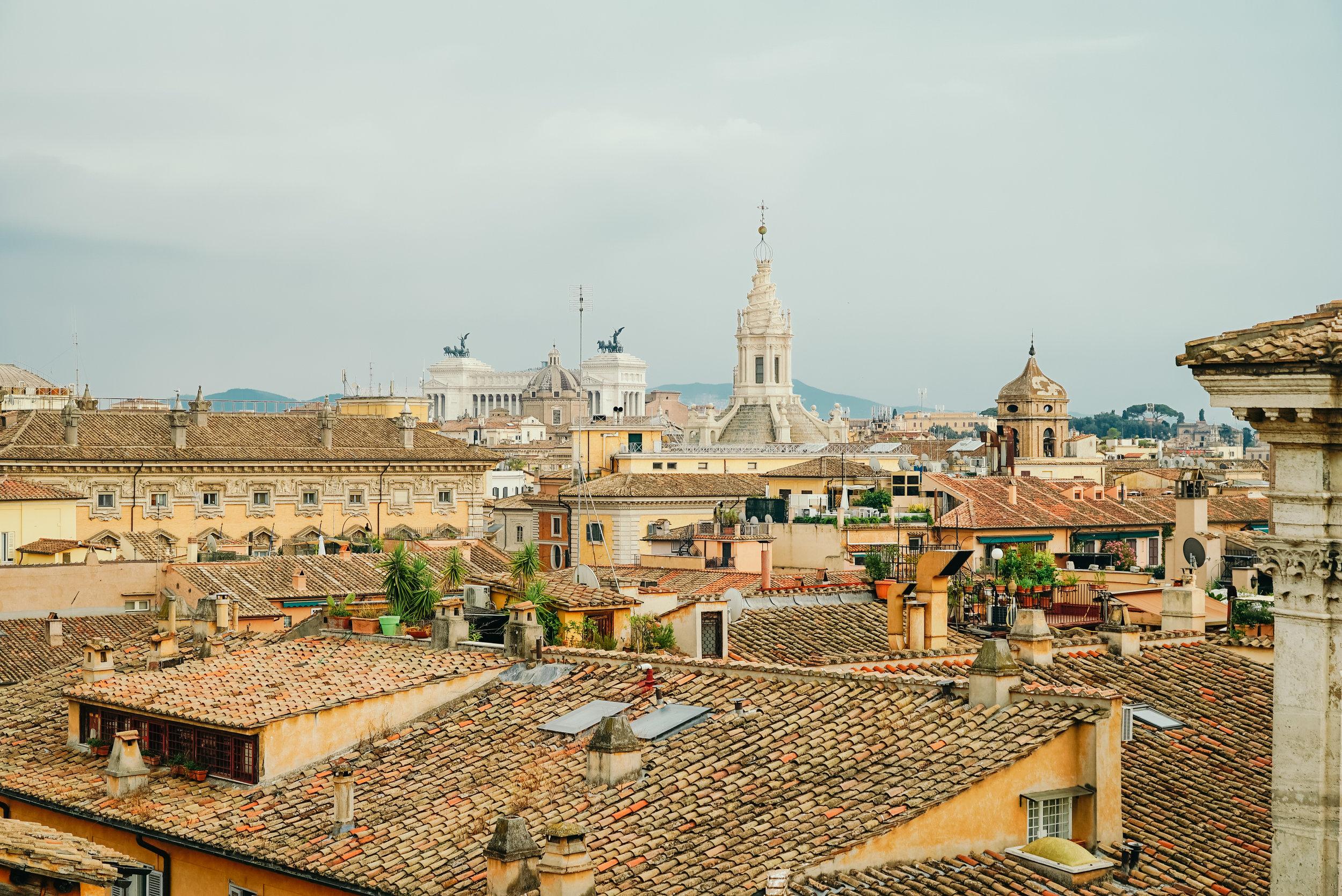 View from Terraza Borromini