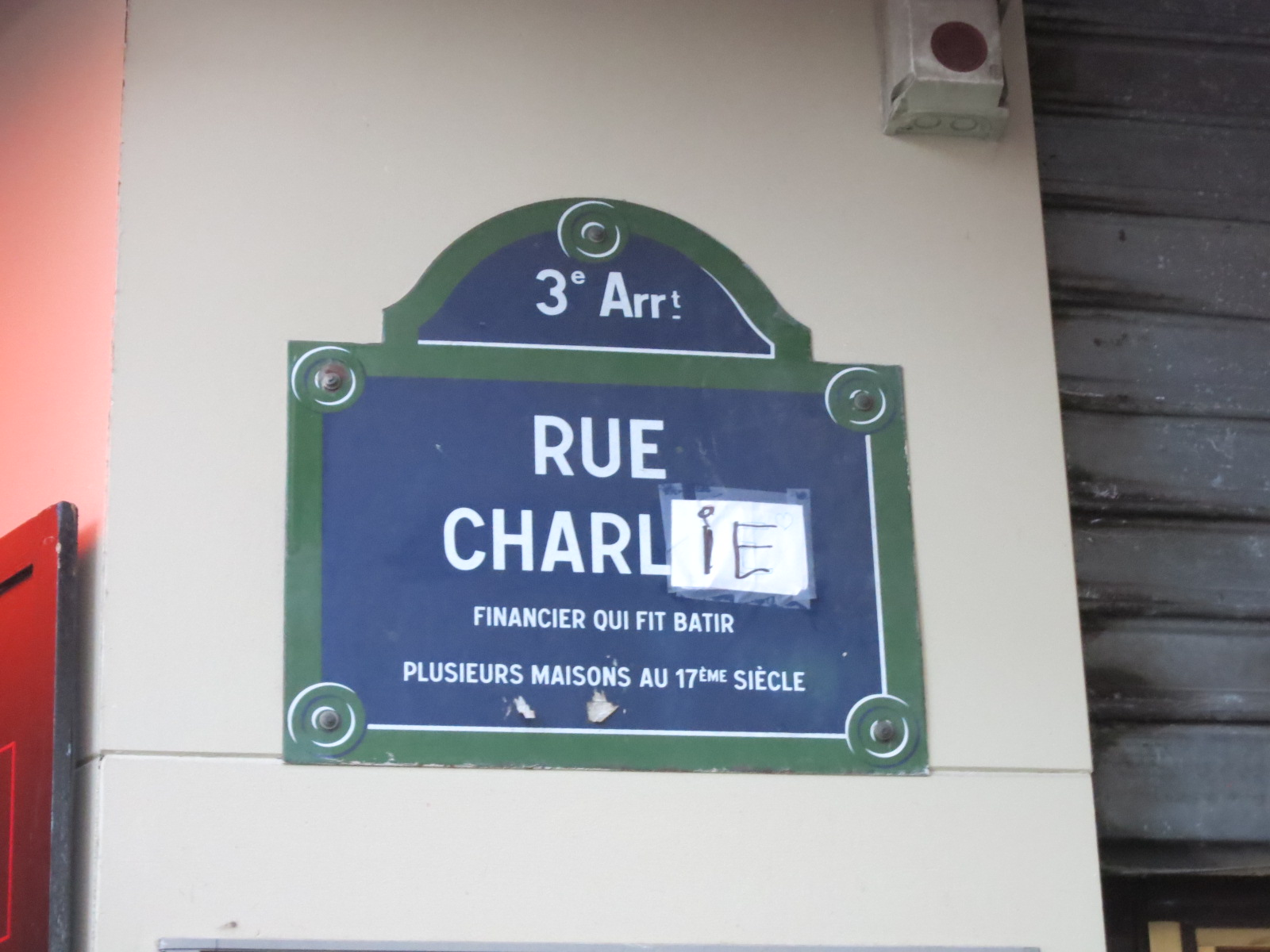 Rue Charlot, Paris.