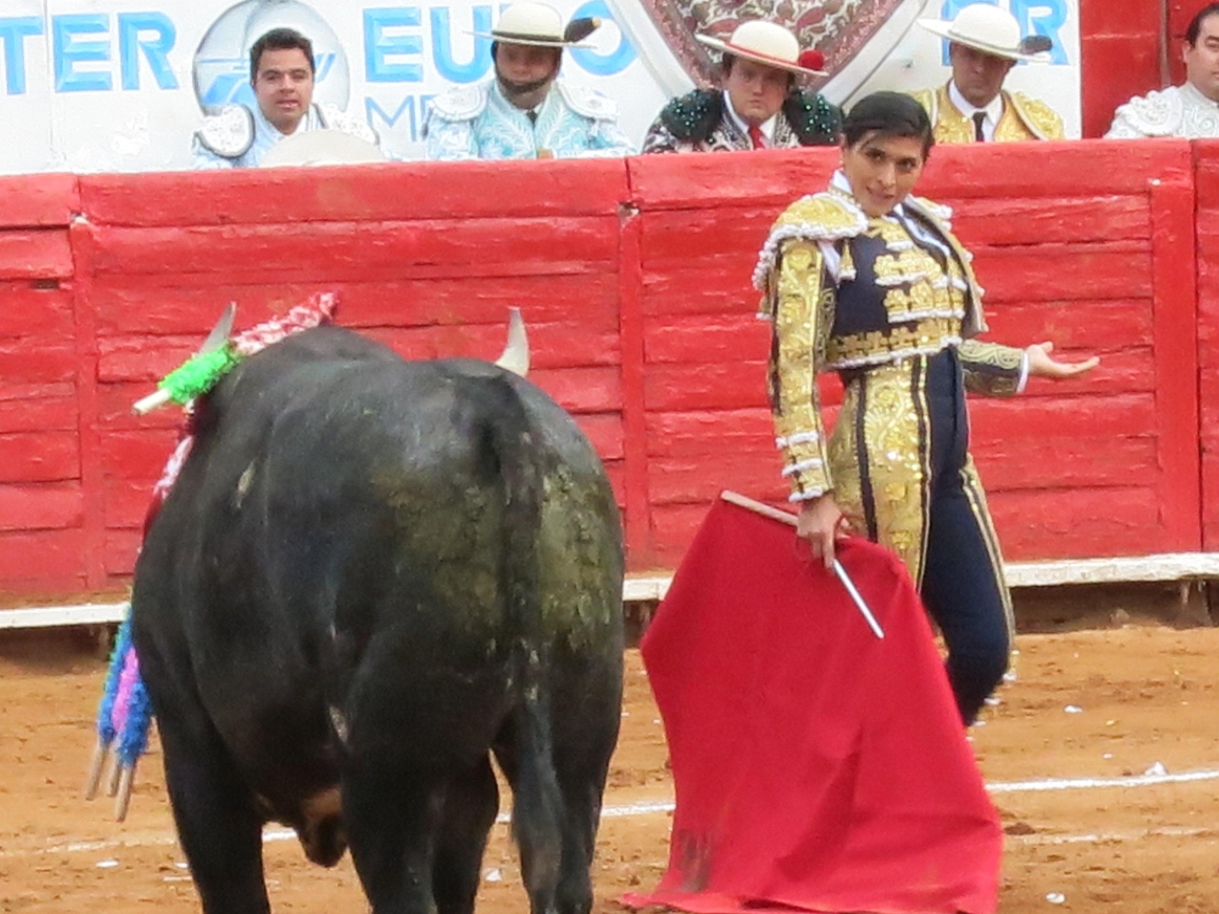 Lupita López, Plaza México.