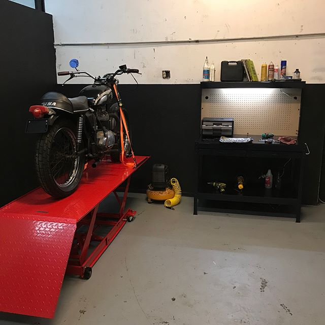 After a winter full of paperwork and remodeling, we're very proud to say that as of March 2018, #flythecoopmoto now offers a communal garage area for motorcyclists to keep their bike off the street while not riding. Members will have access at their leisure for parking their bikes as well as access to a lift, tools, and air during set hours. Spaces are limited and filling up fast - shoot us a message for more info or check out flythecoopmoto.com  We would also like to take a second to thank everyone who has supported us through the last few years of Fly the Coop Moto. Whether you bought a build or gave us a pat on the back, it all helped us get here.