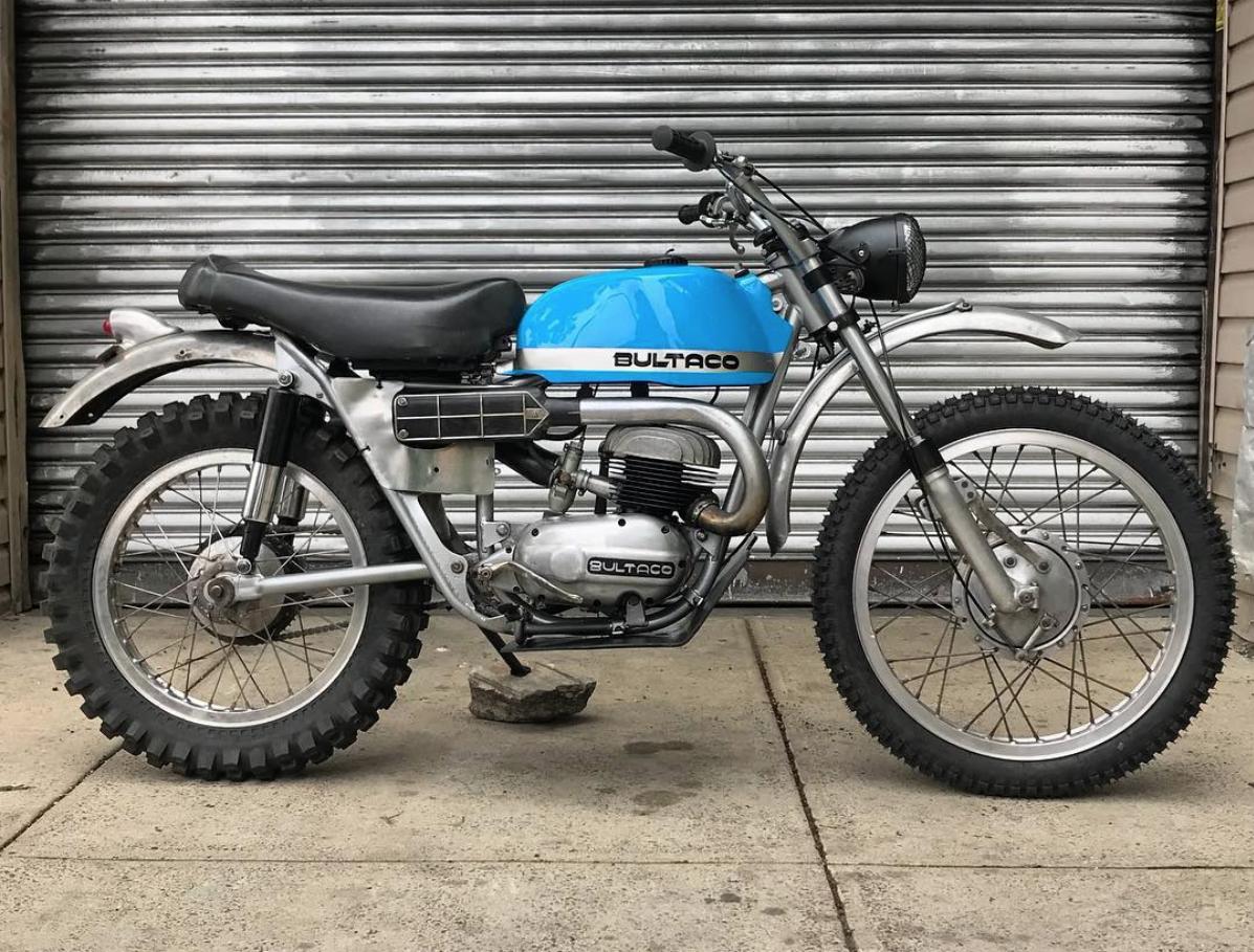 1966 Bultaco Sled