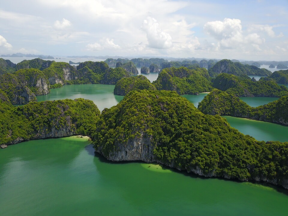 Halong Bay courtesy of Sheila the Drone