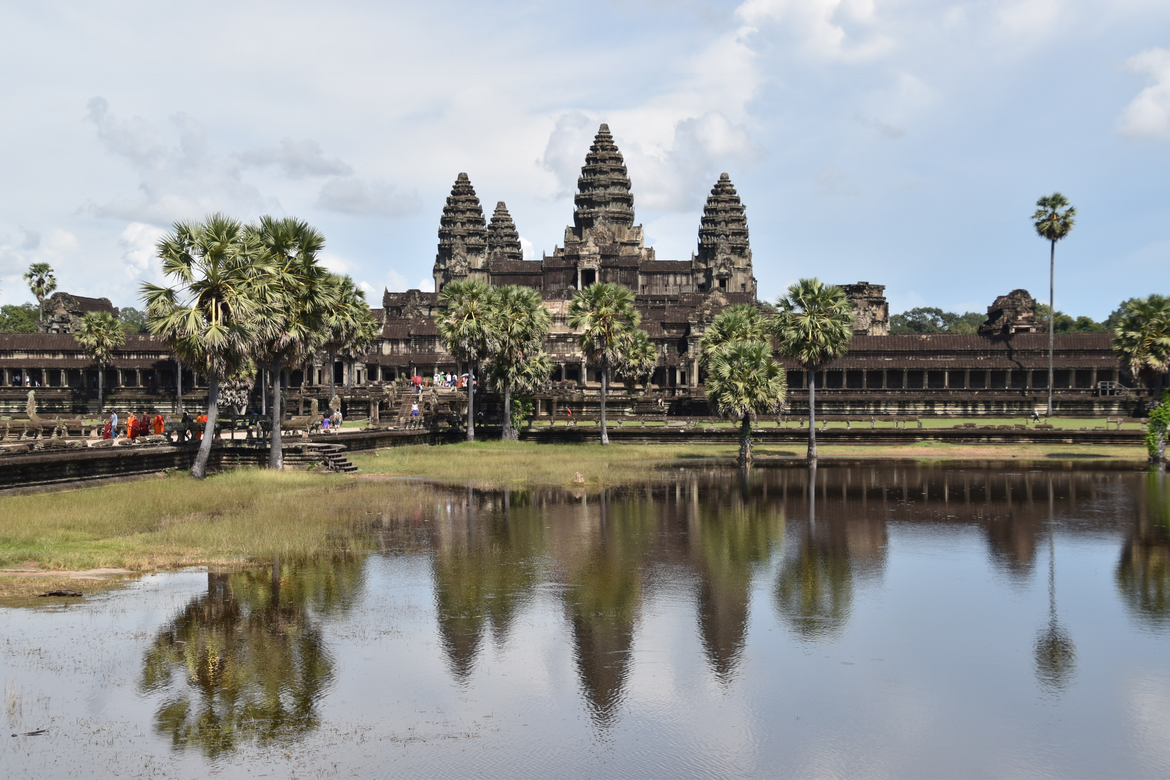 Angkor Wat reflections...