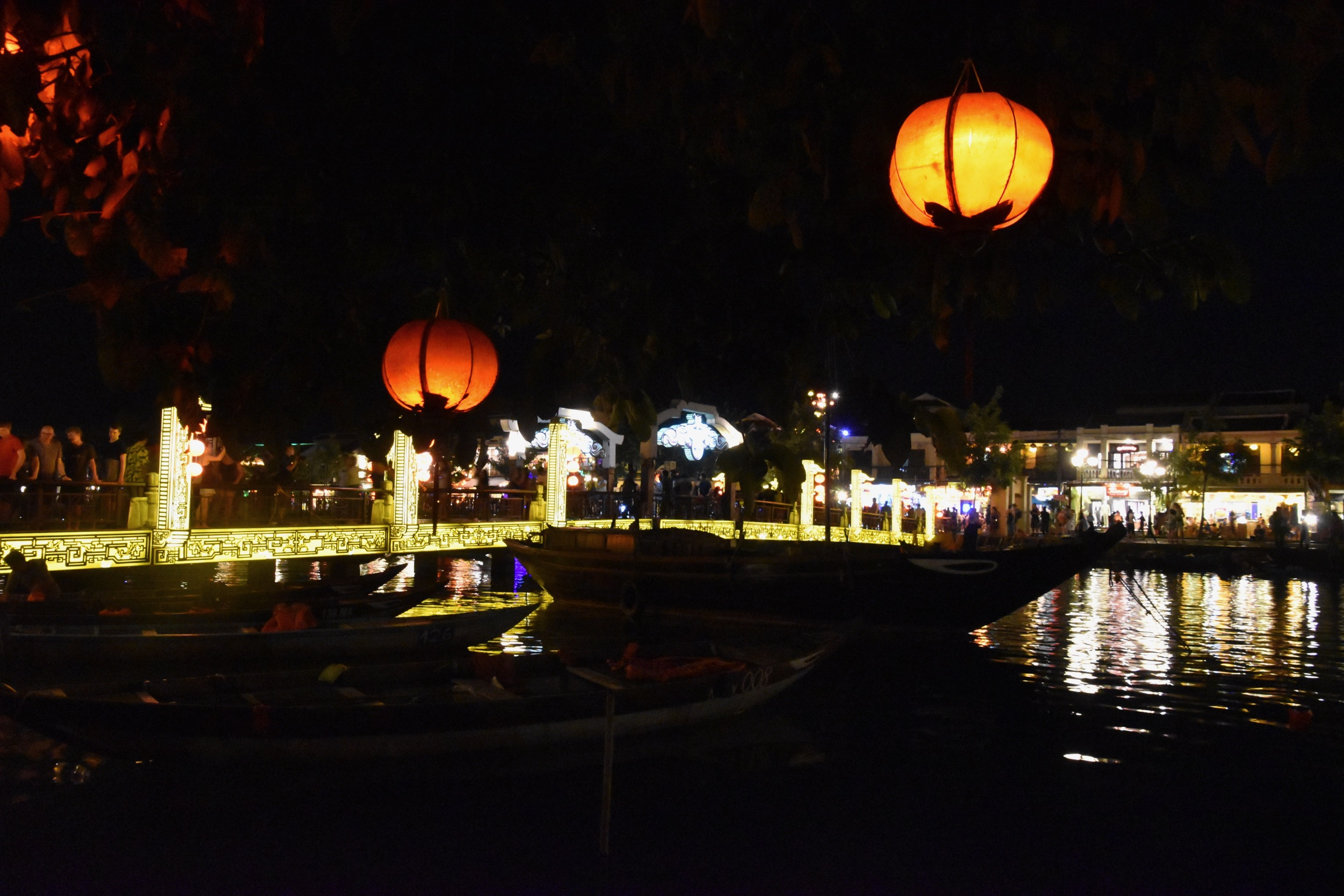 night scene in Hoi An