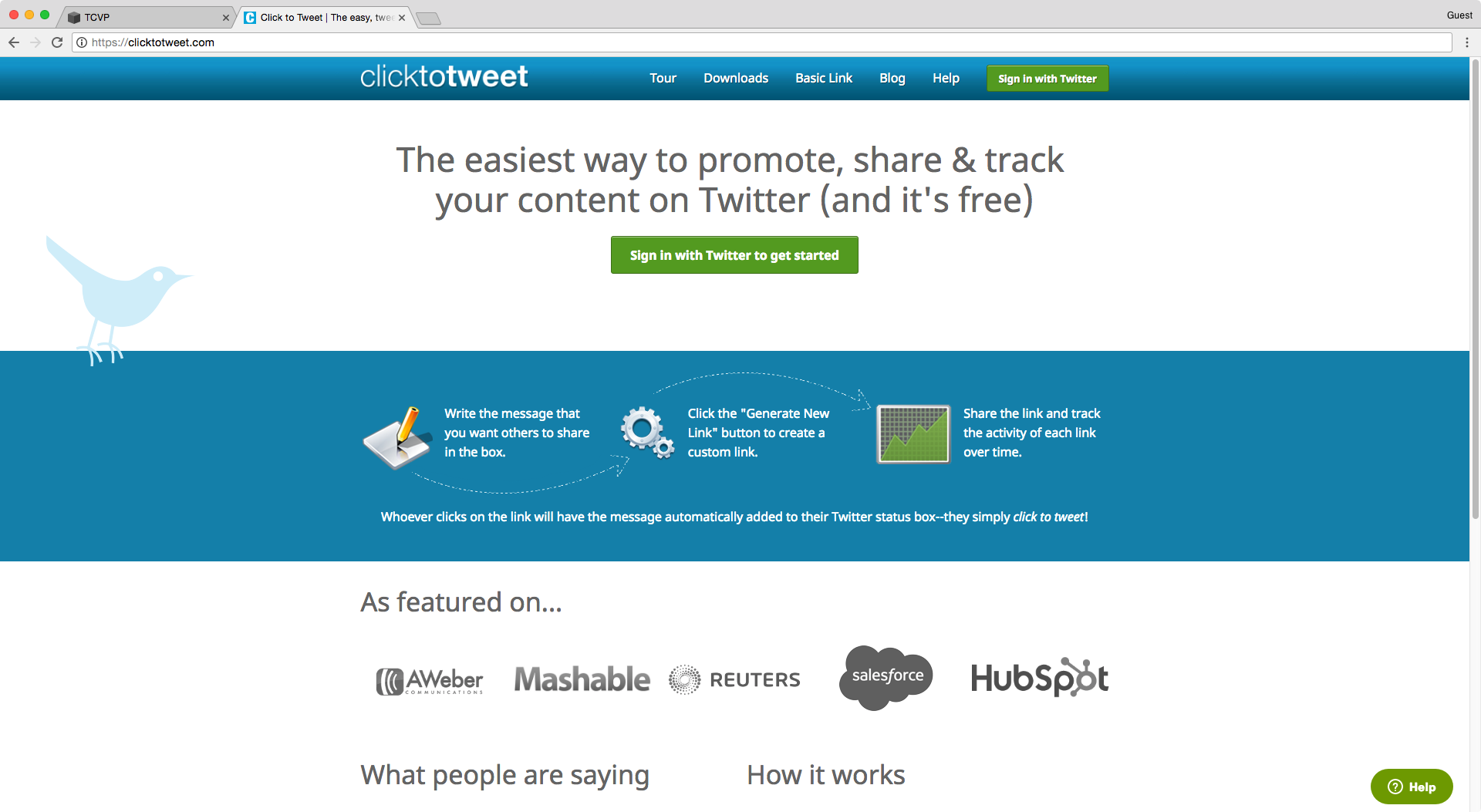 Creating a click to tweet to add to Squarespace