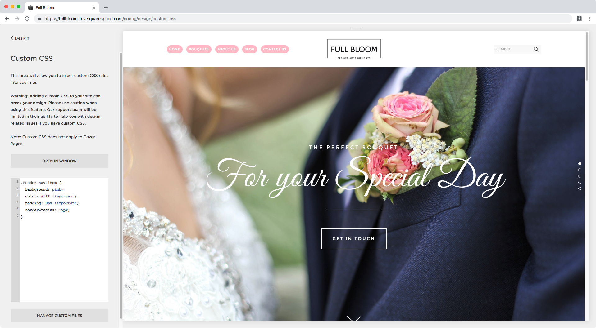 16. Adding a background color on hover to menu in Brine.png