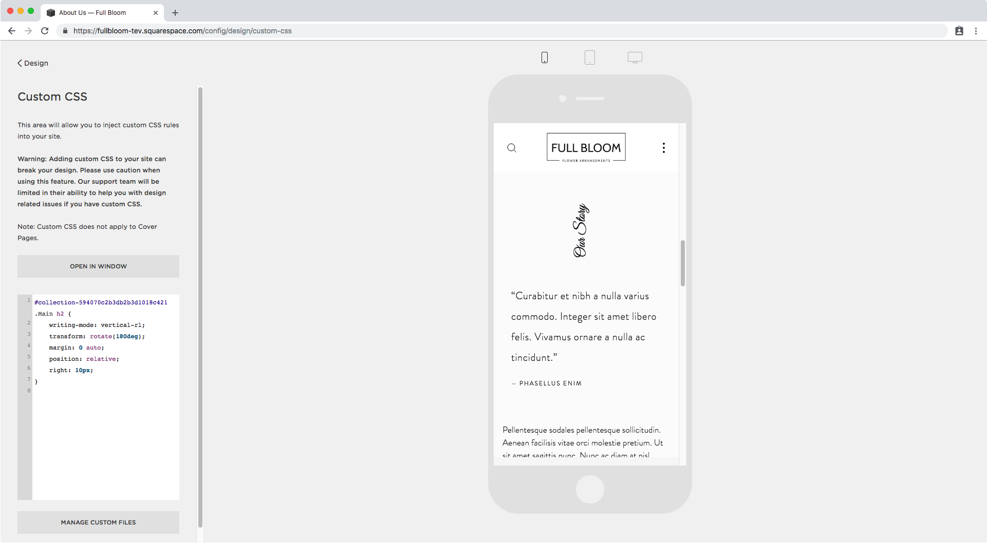 14. Vertical text in Squarespace mobile issue.png