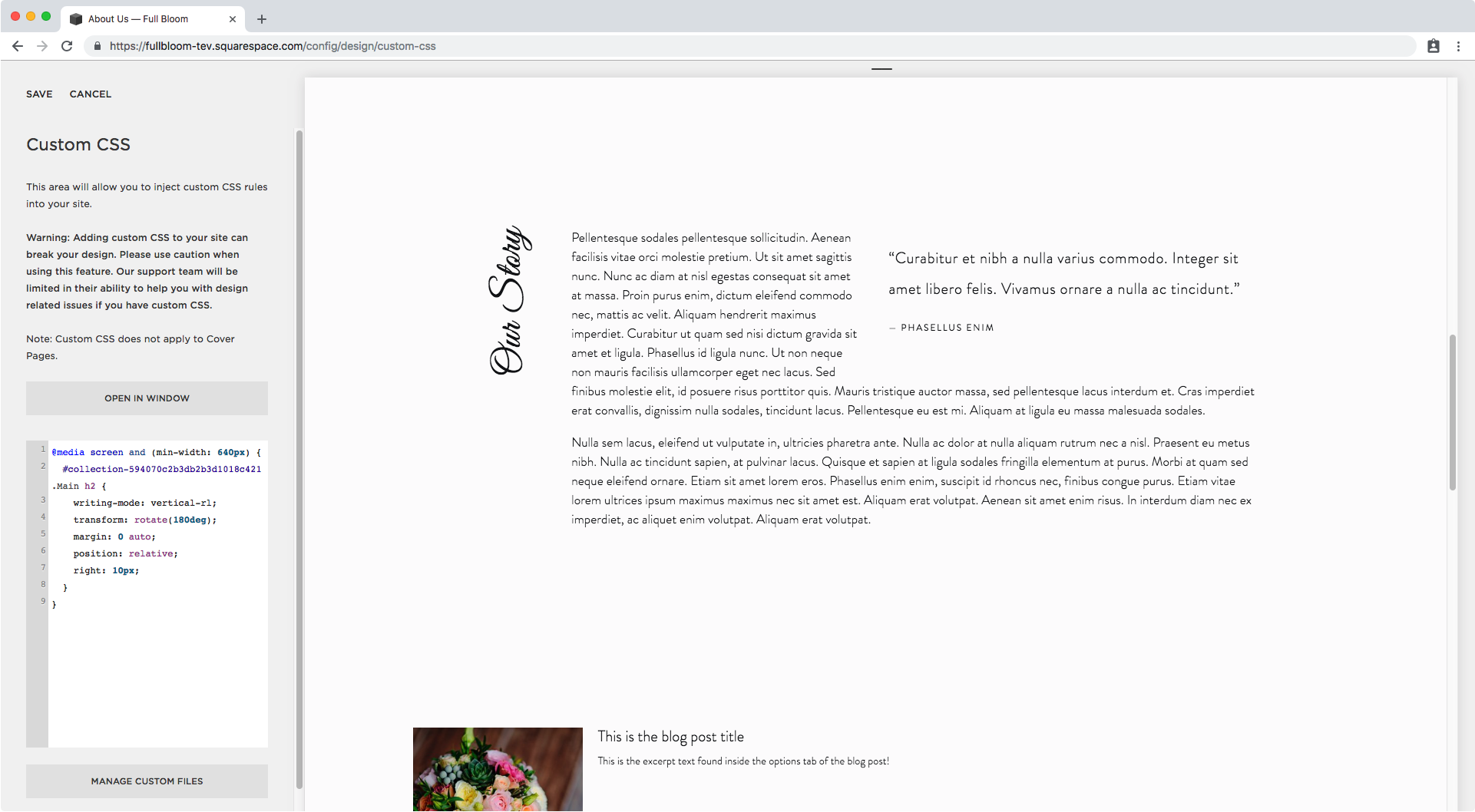 15. Adding media query to vertical text.png