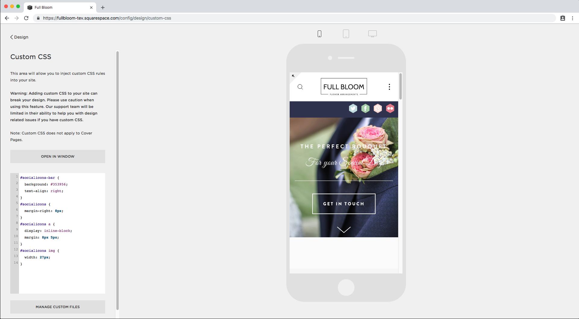 16. Custom social media icons in Brine mobile.png