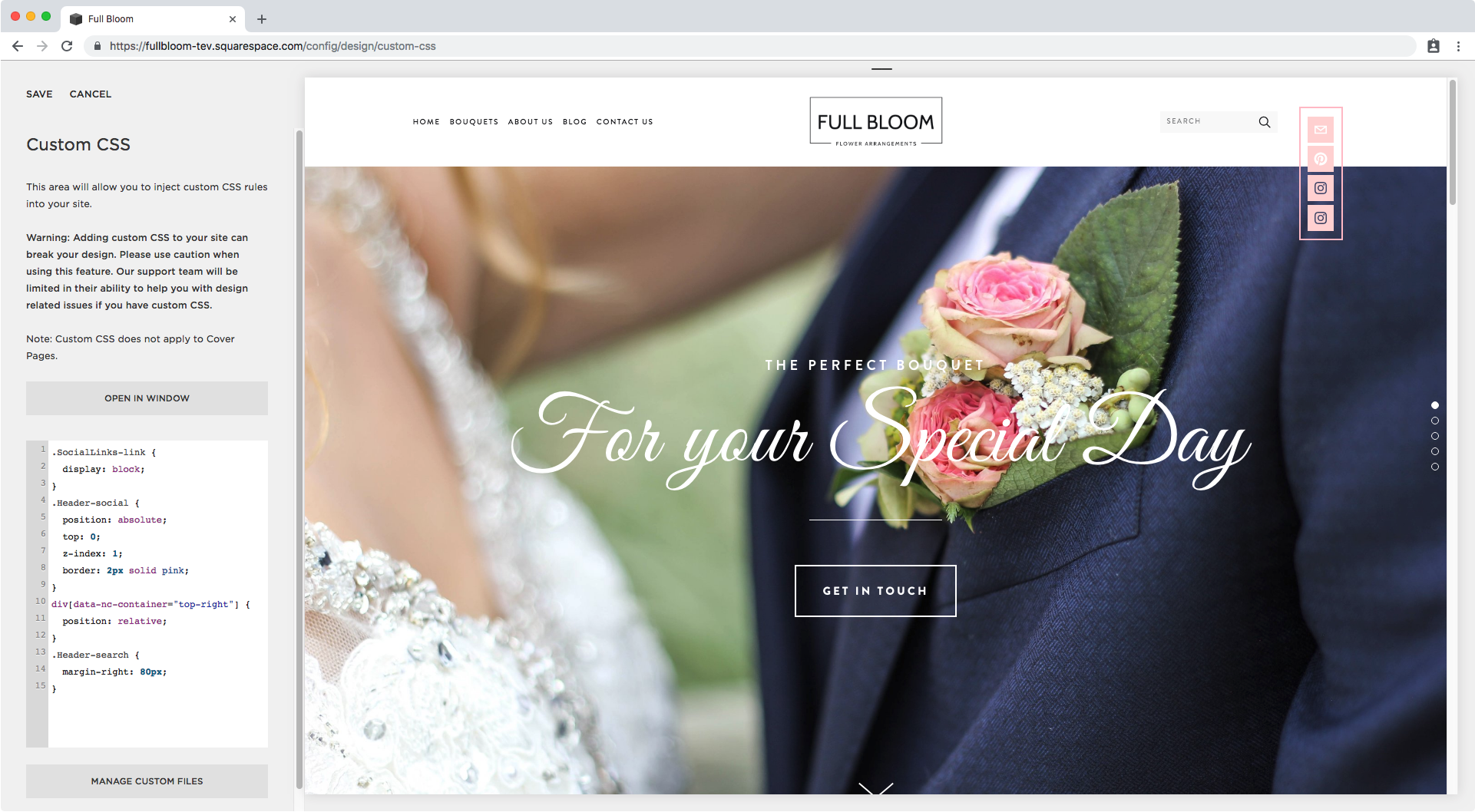 15. Adding border to social icons in Squarespace.png