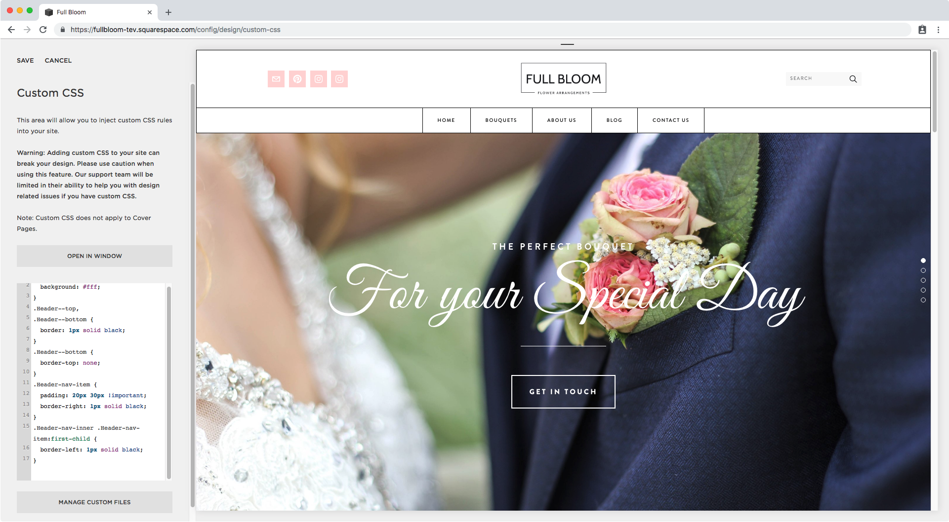 20. Adding a border to menu link in Squarespace.png