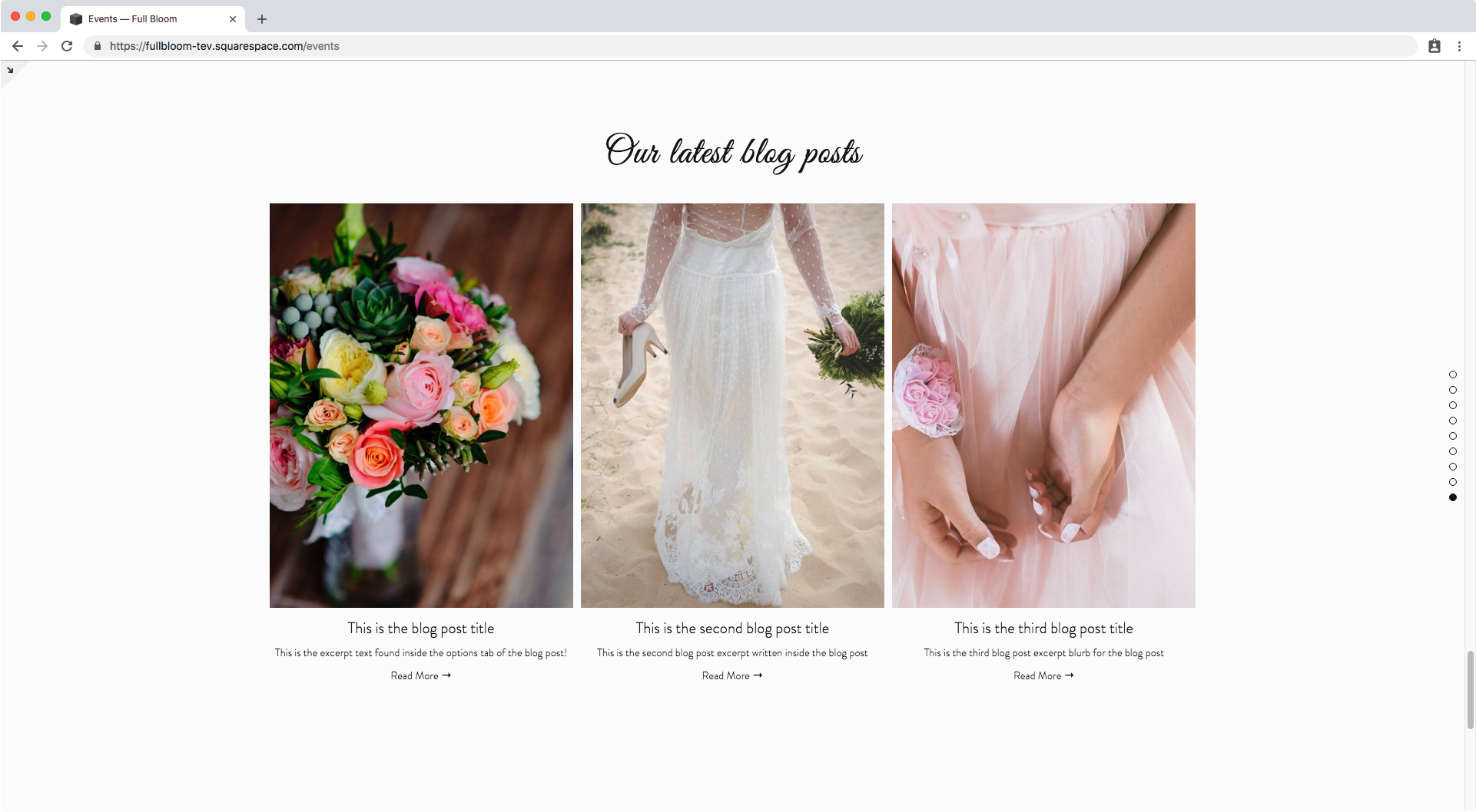 Adding a hover effect to summary and gallery blocks in