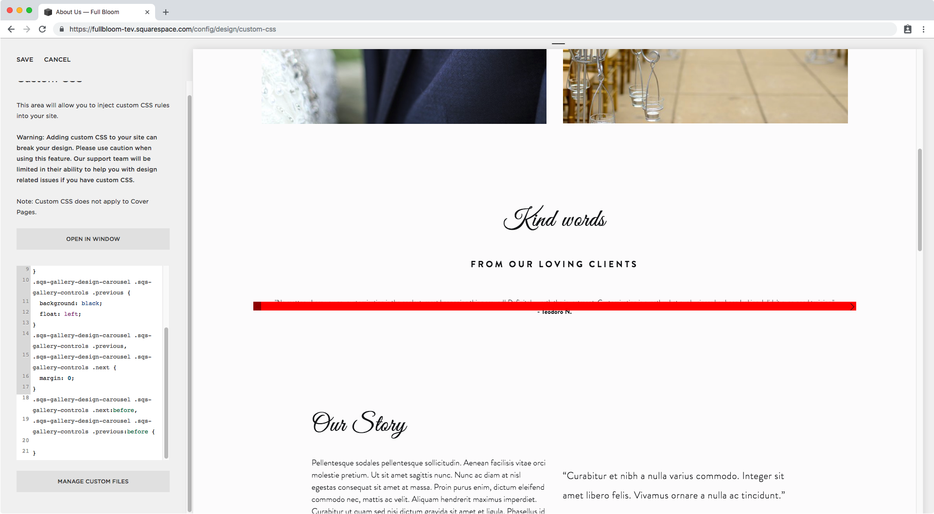 24. Custom CSS window in Squarespace.png