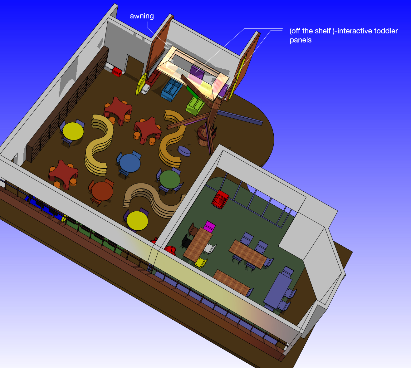 Kids Zone & Discovery Room