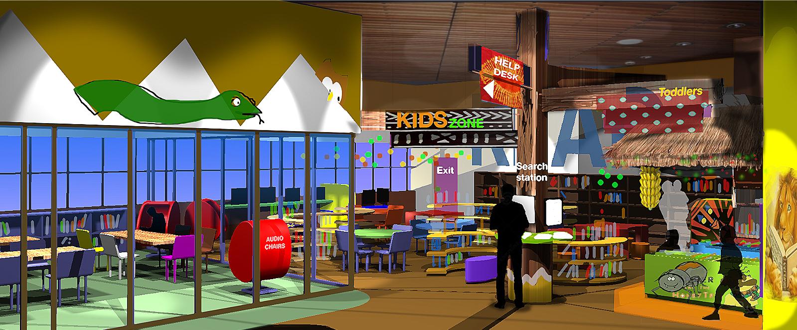 Kids Zone Rendering
