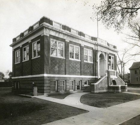 Dixwell Avenue Branch Library, built in 1922.