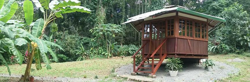 Casita consultorio osteopatía Costa Rica