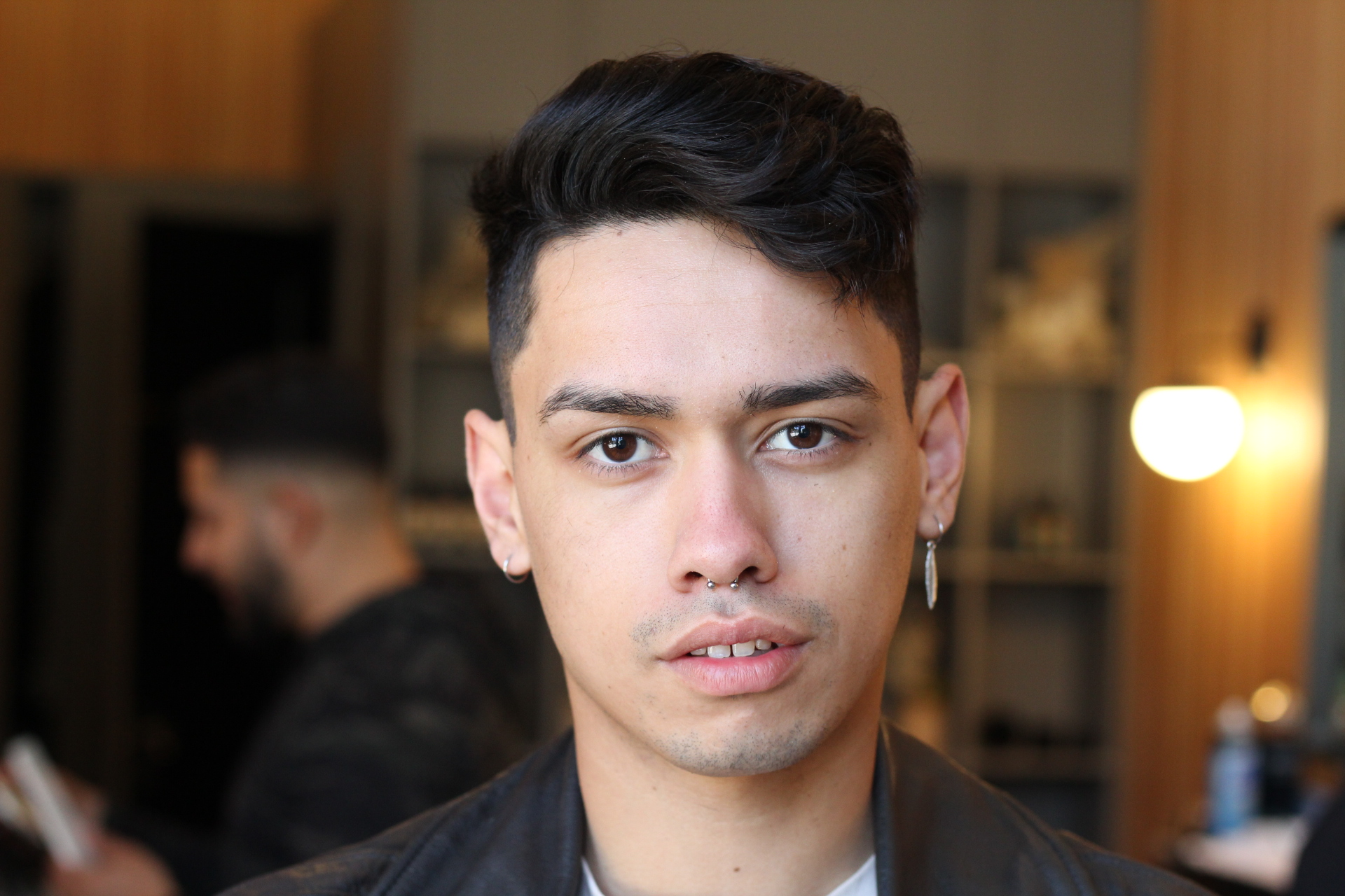 Styled Scissor Cut - At Church we typically use a combination of scissors and clippers, depending on the haircut requested.  For those who prefer the look of a scissors only haircut, our barbers specialize in providing scissor cuts layered and styled to perfection.