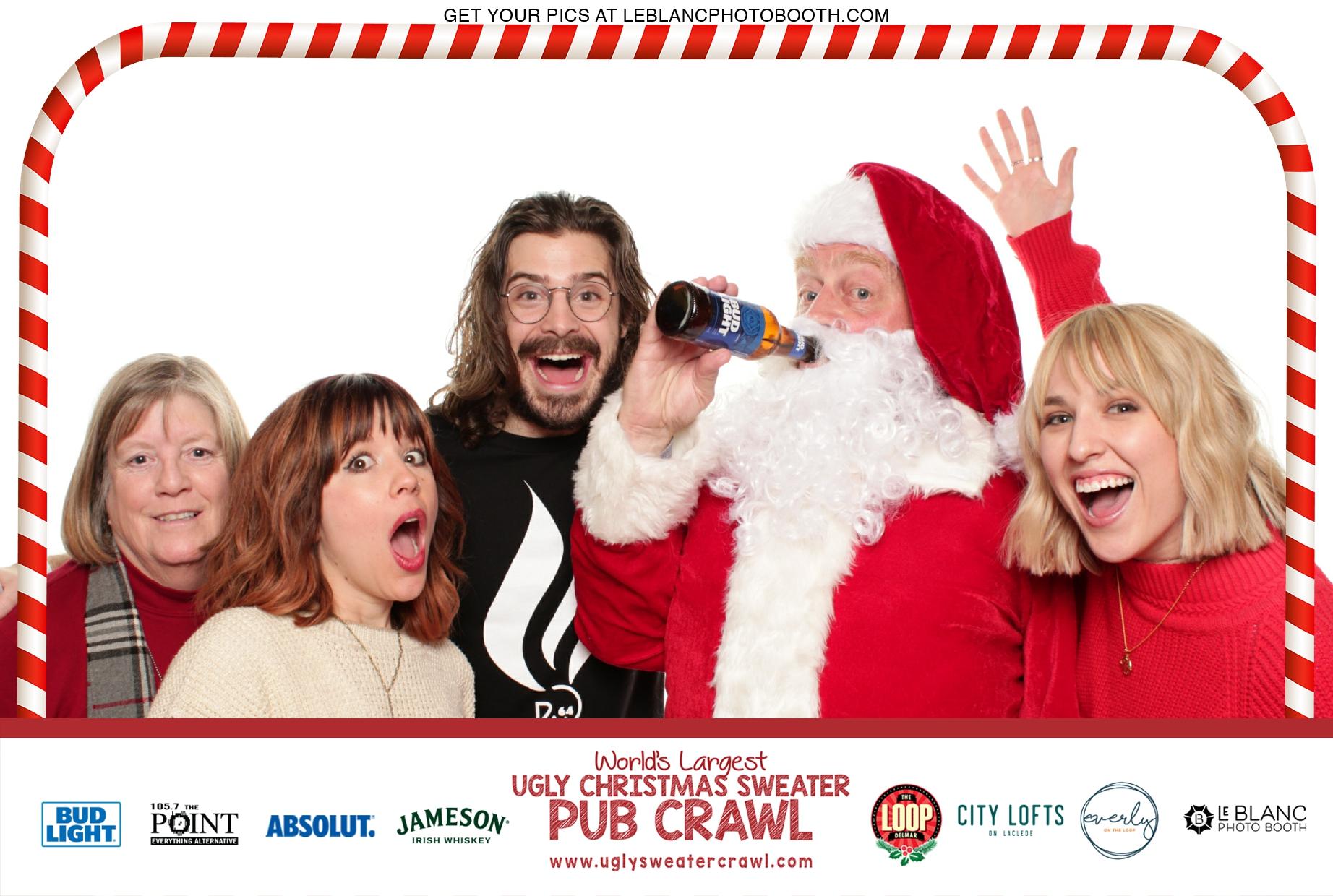 World's Largest Ugly Christmas Sweater Pub Crawl - 17.12.16