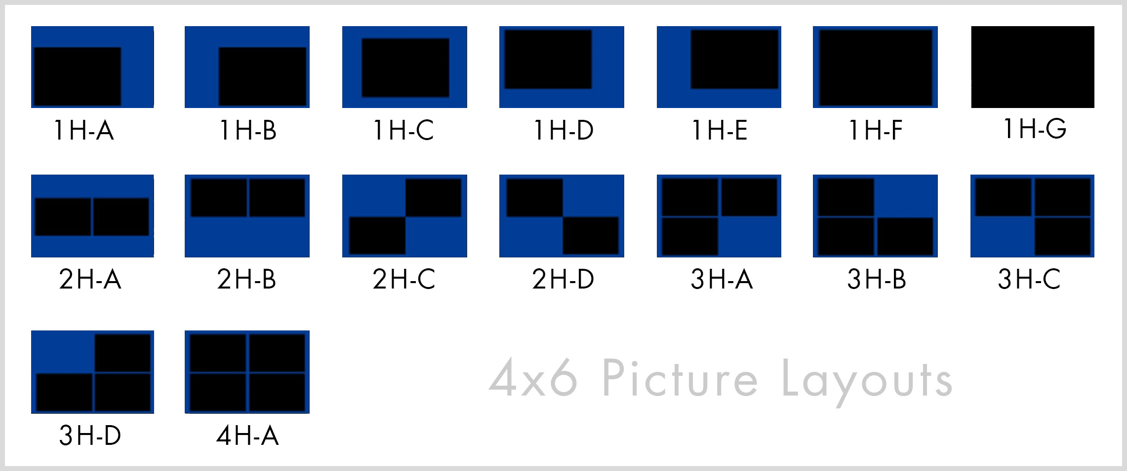 Template Guides 4x6 | Le Blanc Photo Booth