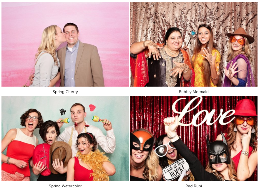 Backdrop Examples 2 | LeBlanc Photo Booth