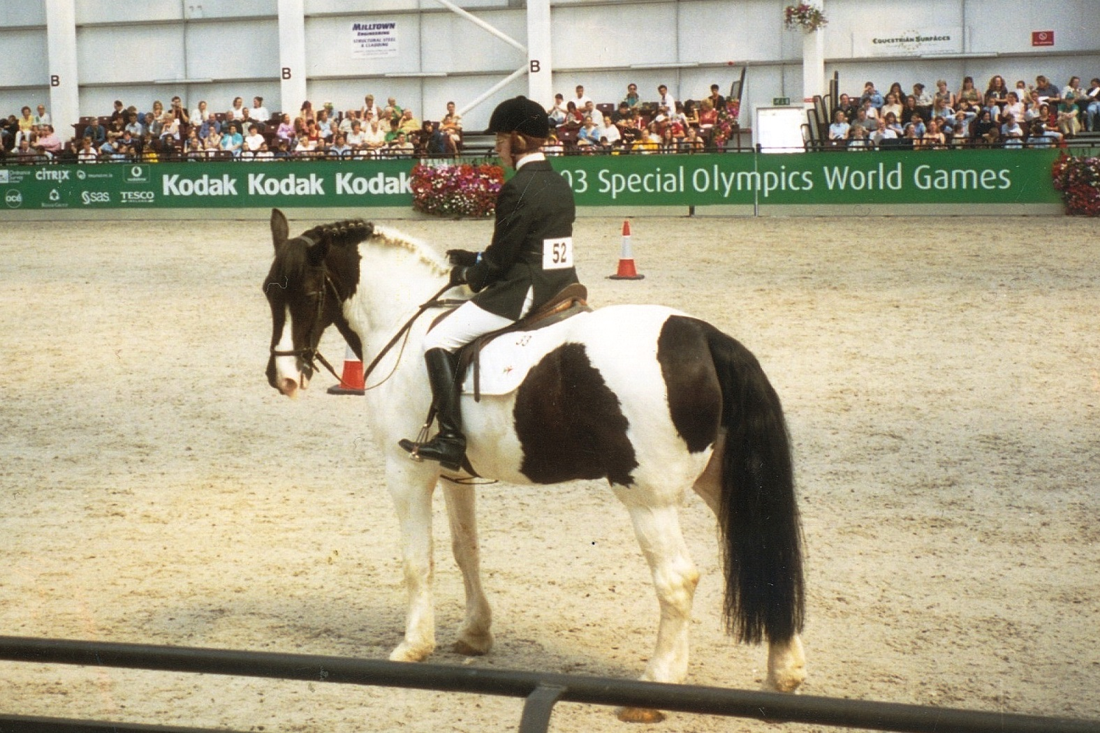 Stacey at the Special Olympics World Games in Dublin, Ireland