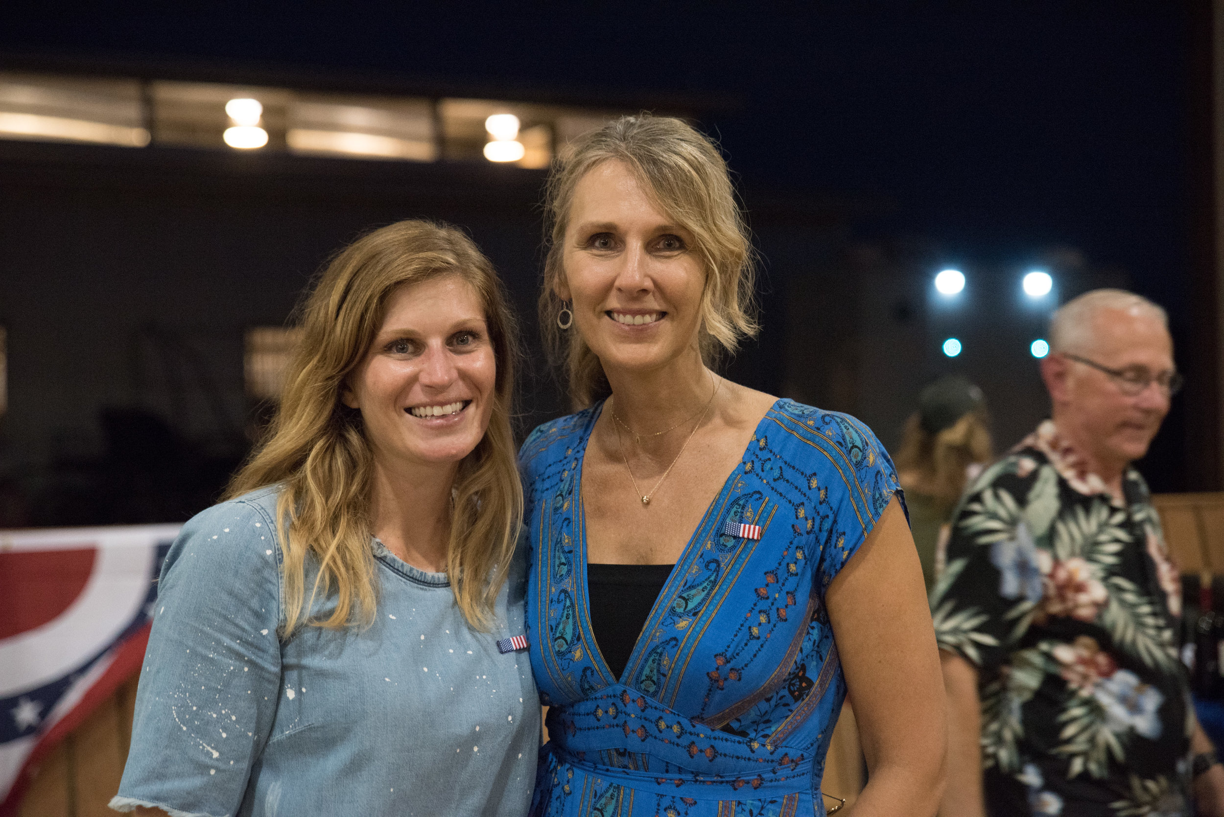 Equest Co-Chairs Robin Lott and Carolyn Anderson - photo credit: Rita Wortham Photography