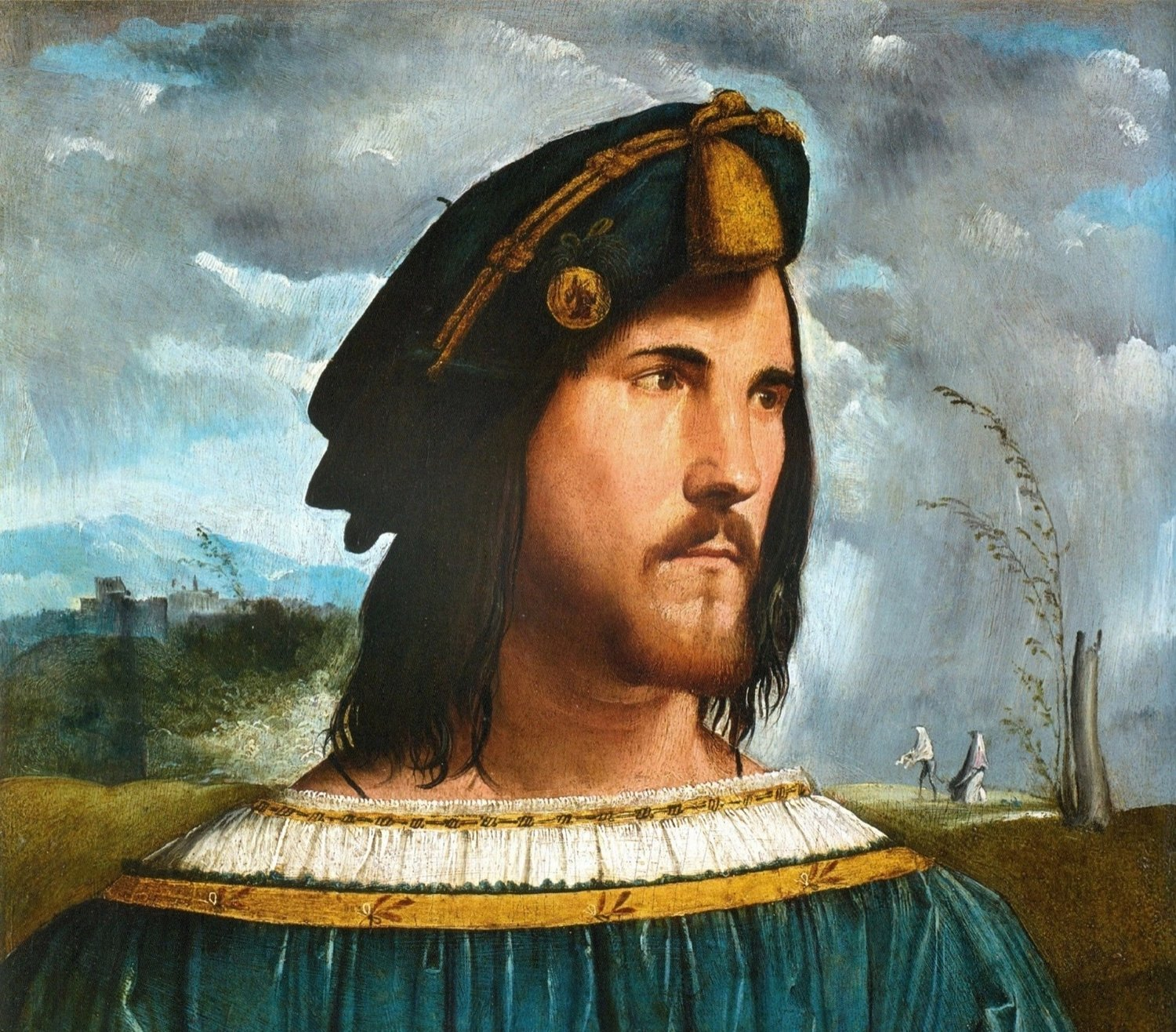 """The image of """"Jesus"""" is based on the likeness of Cesare Borgia ..."""