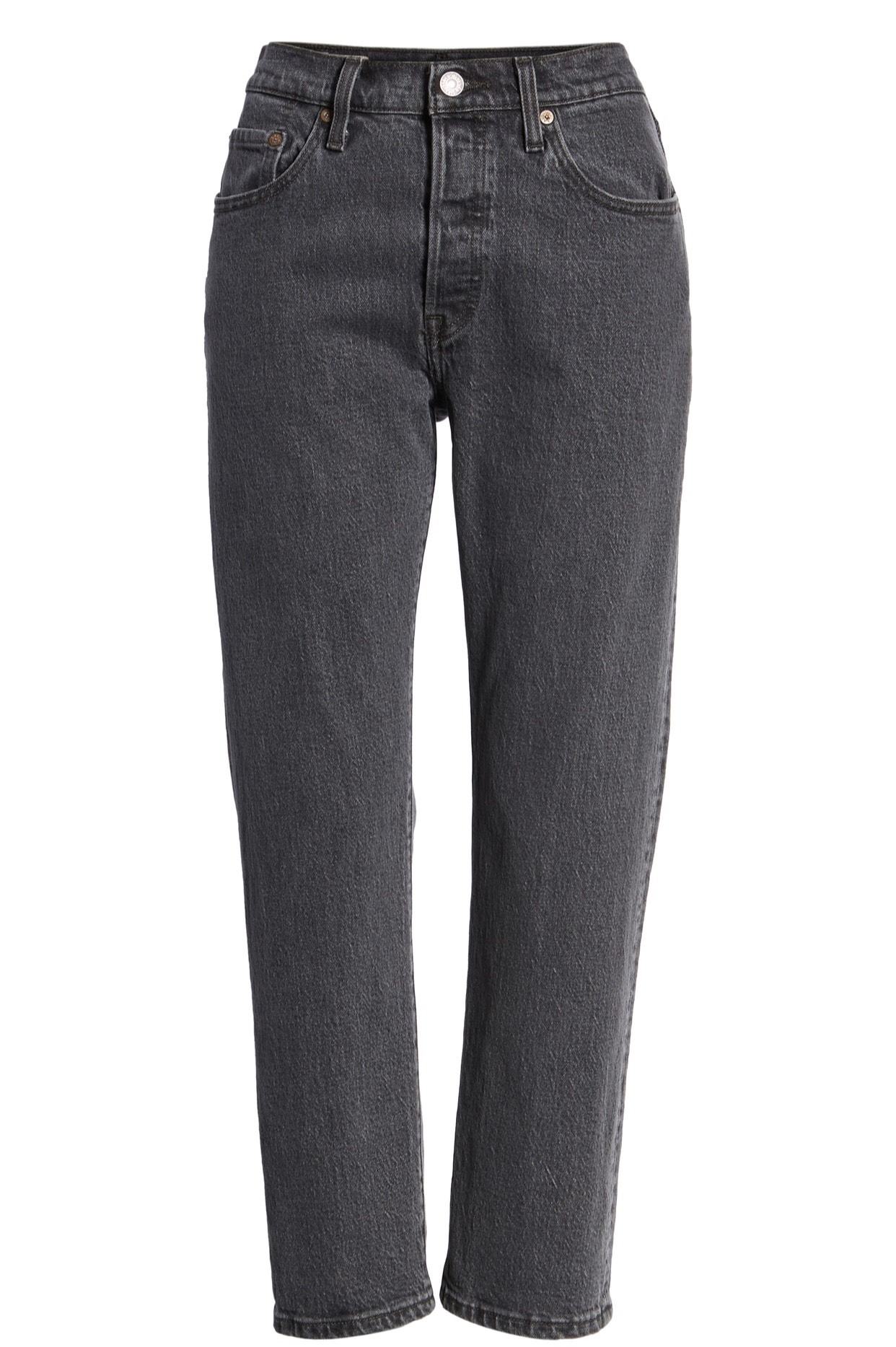 Levi's 501 Crop Skinny Jeans {$64.90} - After sale: $98