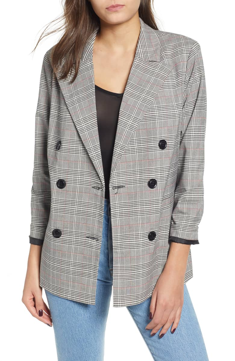 4. English Factory Double Breasted Blazer {$119} -