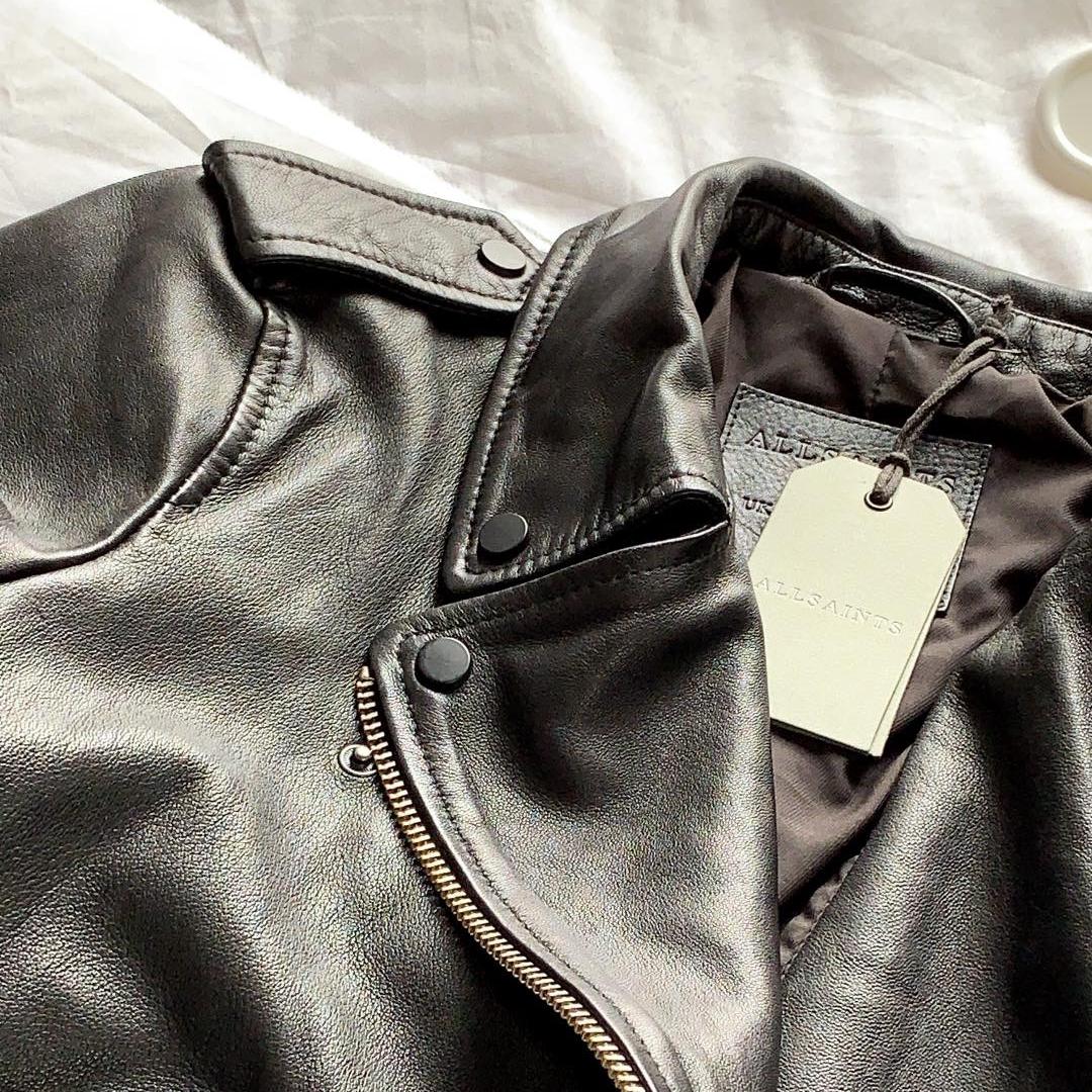 5. Allsaints 'Balfern' Leather Jacket {$498} -