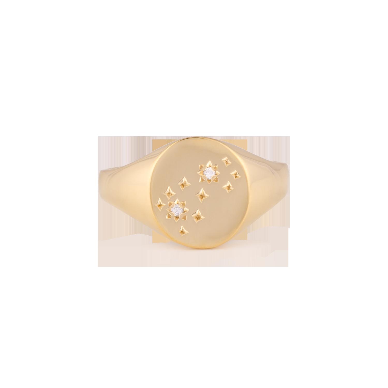 1. Mejuri Zodiac Scorpio Pinky Ring {$69} -
