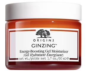 8. Origins Ginzing Gel Moisturizer {$29.50} -
