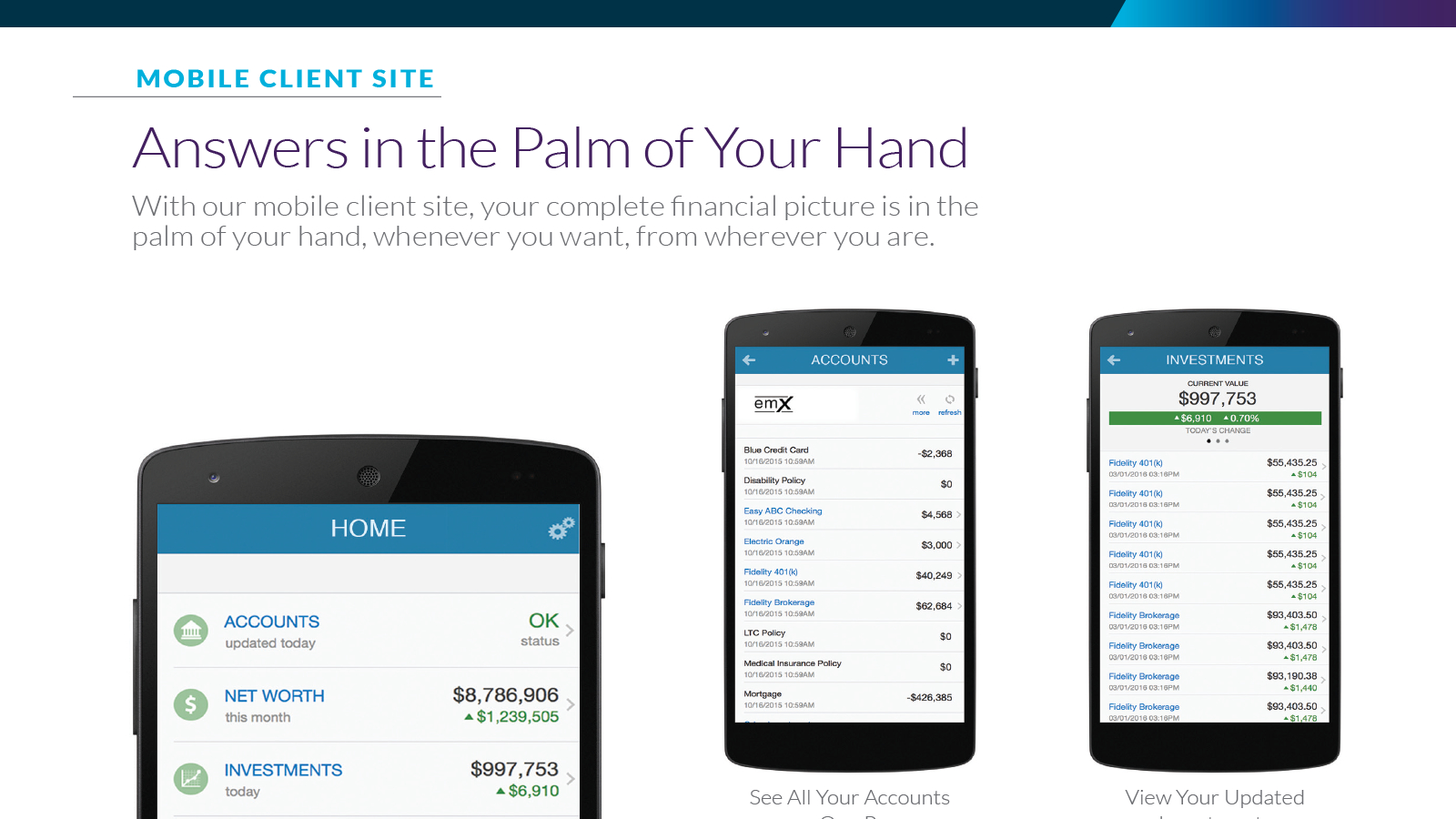 Mobile Client Site [PDF Download]