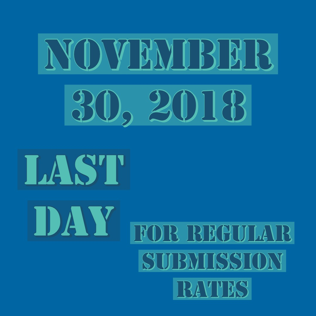 Hurry up to get that regular submission rate!