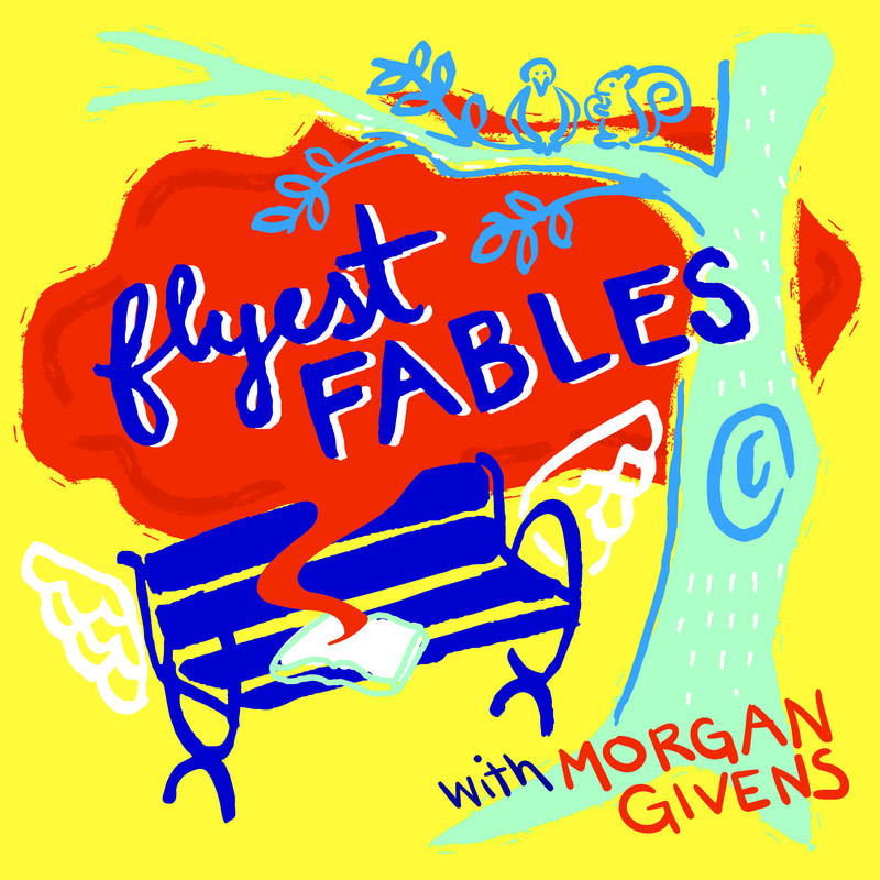Flyest Fables is a fiction podcast that tells the story of Antoine and his adventures in another world.